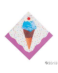 I Scream for Ice Cream Luncheon Napkins