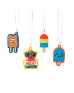 Ice Pop Party Charm Necklaces