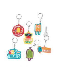 Ice Pop Party Keychains
