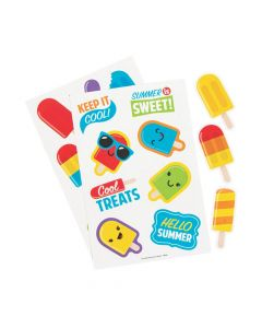 Ice Pop Party Scented Stickers