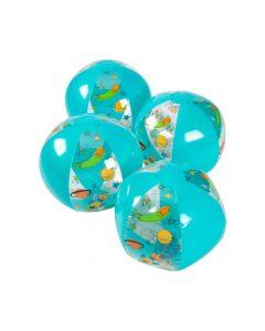"Inflatable 11"" Trendy Space Medium Beach Balls"