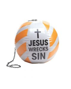 Inflatable Construction VBS Wrecking Ball