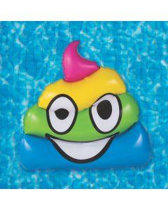 Inflatable Jumbo Poop Pool Float