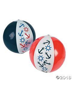 Inflatable Nautical Beach Balls