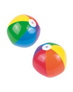 Inflatable Rainbow Beach Balls