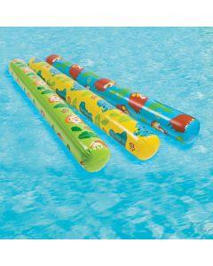 Inflatable Safari Animal Pool Noodles