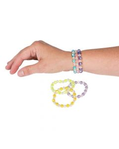 Iridescent Bead Bracelets