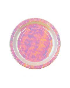Iridescent Paper Dinner Plates