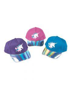 Iridescent Unicorn Baseball Caps