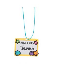 Island VBS Name Tag Necklace Craft Kit