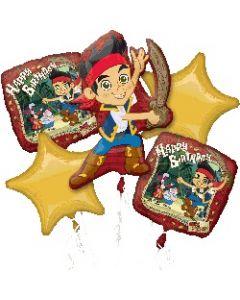 Jake & Neverland Pirate Balloon Bouquet