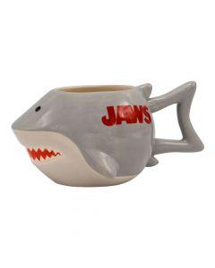 Jaws Shark-Shaped Ceramic Mug