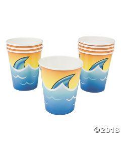 Jawsome Shark Paper Cups