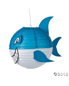 Jawsome Shark Paper Lanterns