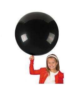 "Jumbo Black 36"" Latex Balloon"