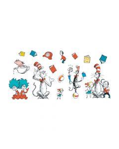 Jumbo Dr. Seuss Characters Bulletin Board Cutouts