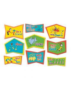 Jumbo Dr. Seuss Classroom Rules Cutouts