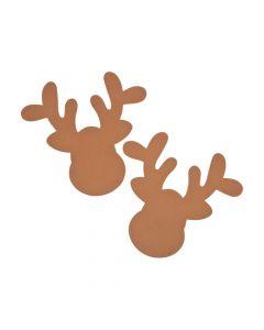 Jumbo Reindeer Head Shapes