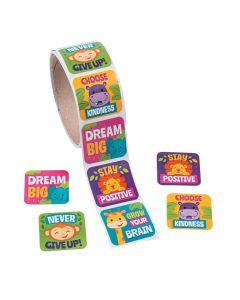 Jungle Motivational Stickers