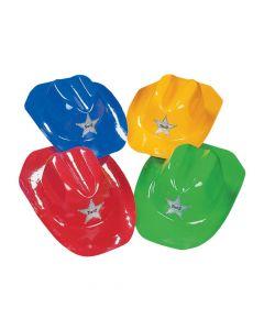 Kids' Bright Color Cowboy Hats Assortment