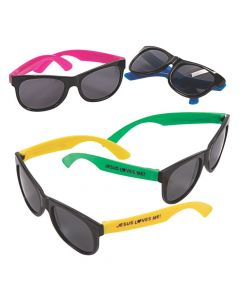 Kid's Jesus Loves Me Nomad Sunglasses