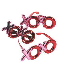 Kid's Metallic XOXO Glasses
