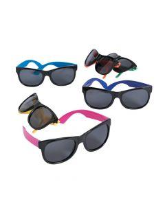 Kid's Neon and Black Nomad Sunglasses