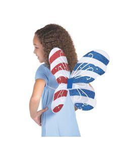 Kid's Patriotic Butterfly Wings