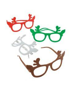 Kids' Reindeer Novelty Glasses