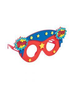 Kids' Superhero Glasses Craft Kit