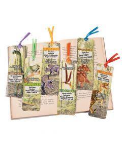 Laminated Dinosaur Bookmarks