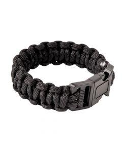 Large Black Paracord Bracelets