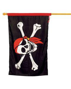 Large Cloth Pirate Flag