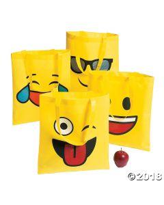 Large Emoji Tote Bags