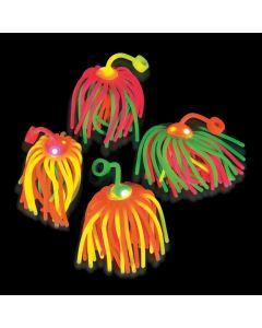 Large Flashing Neon Stretchy Noodle Ball Yo-Yos