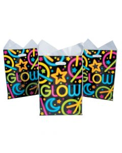 Large Neon Glow Party Goody Bags