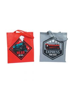 Large Railroad VBS Tote Bags