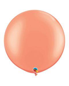 """Large Rose Gold Metallic 30"""" Latex Balloons"""