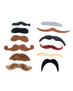 Large Self-Adhesive Mustache Assortment