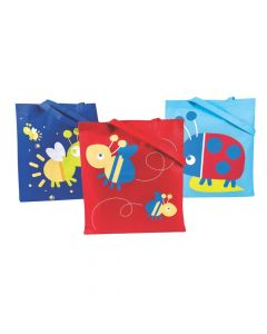 Large Snappy Spring Tote Bags