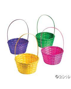 Large Solid Color Easter Baskets