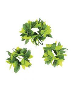 Leaf Headwreath and Wristlet Set