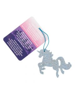 Legend of the Unicorn Ornaments with Card
