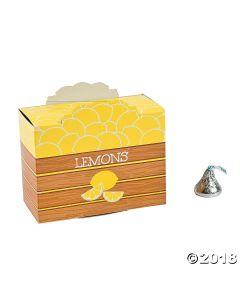 Lemonade Party Favor Boxes