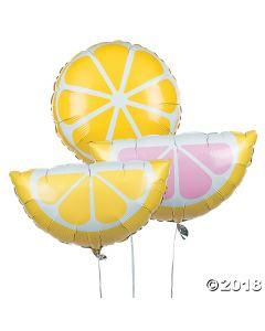 Lemonade Party Mylar Balloons