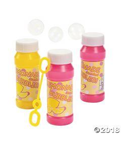 Lemonade-scented Bubble Bottles