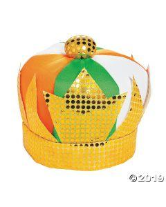 Leprechaun King Plush Hat
