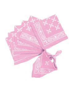 Light Pink Bandanas