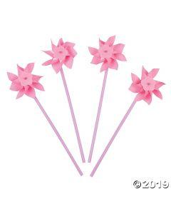 Light Pink Pinwheels