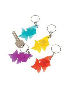 Light-up Goldfish Keychains